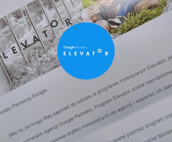 WizjaNet w prestiżowym programie Google Elevator