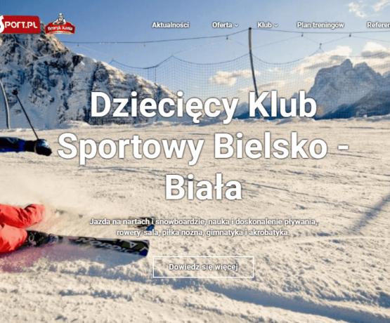 Nowy serwis www dla Paluch Sport z systemem zarządzania zajęciami