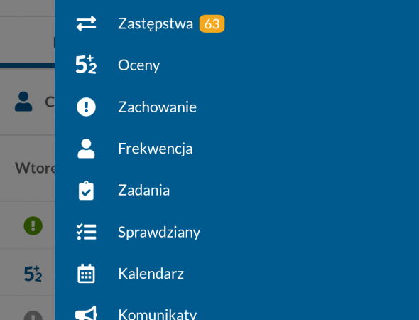 Aplikacja mobiDziennik